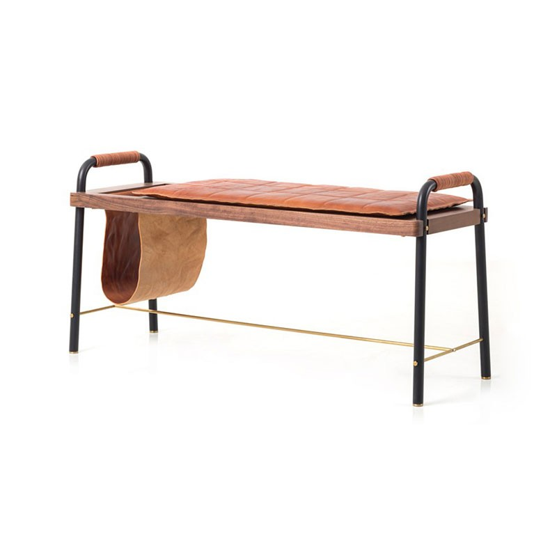 Stellar Works Valet Seated Bench by David Rockwell