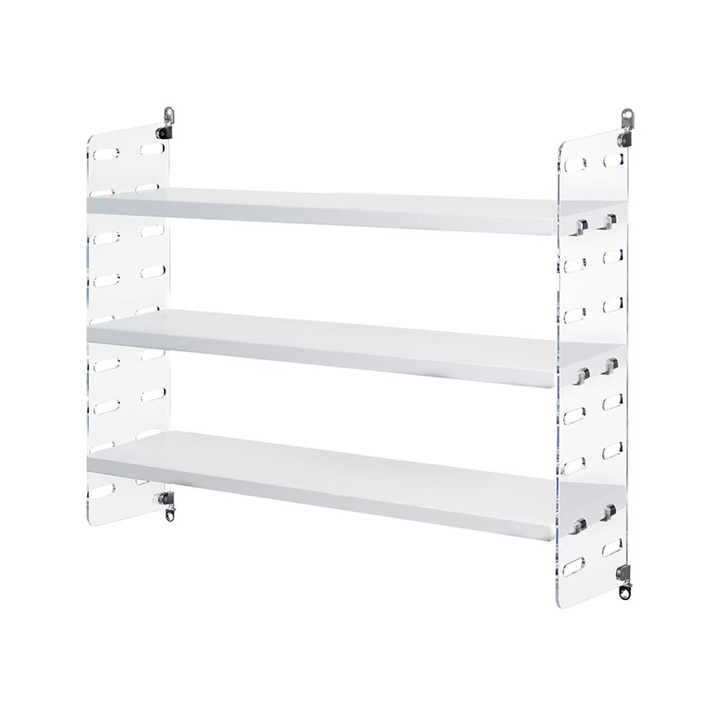 String Plex Pocket Shelving by Nils Strinning