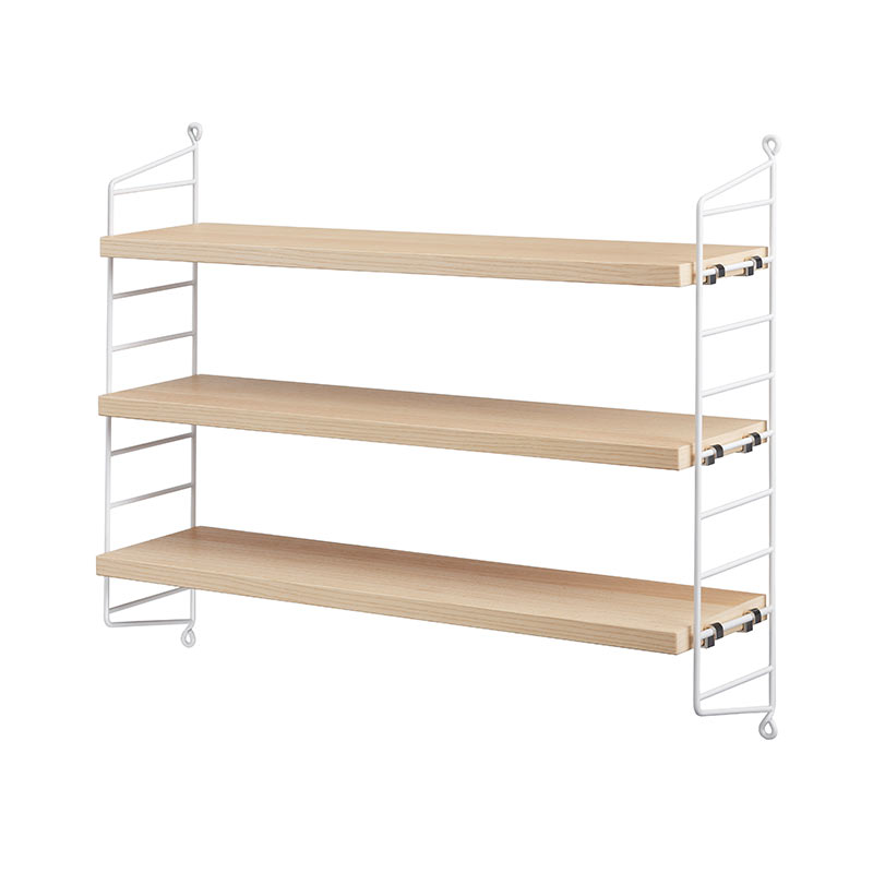 String Pocket Shelving by Nils Strinning