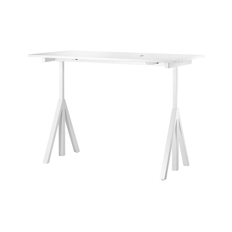 String Works 160x78cm Desk by Nils Strinning Olson and Baker - Designer & Contemporary Sofas, Furniture - Olson and Baker showcases original designs from authentic, designer brands. Buy contemporary furniture, lighting, storage, sofas & chairs at Olson + Baker.