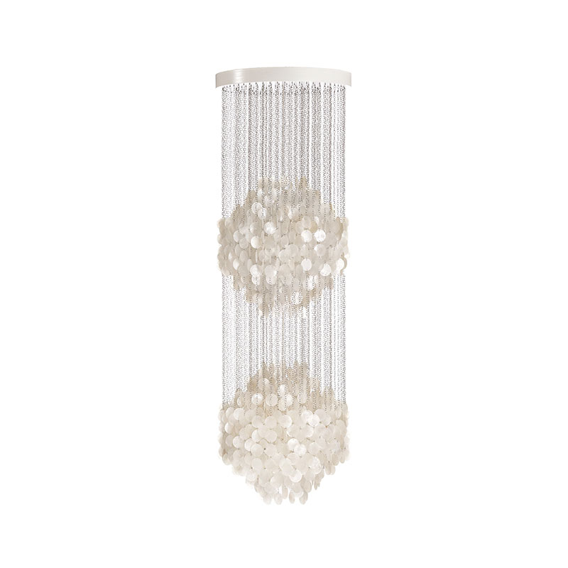 Verpan Fun 5DM Chandelier by Verner Panton