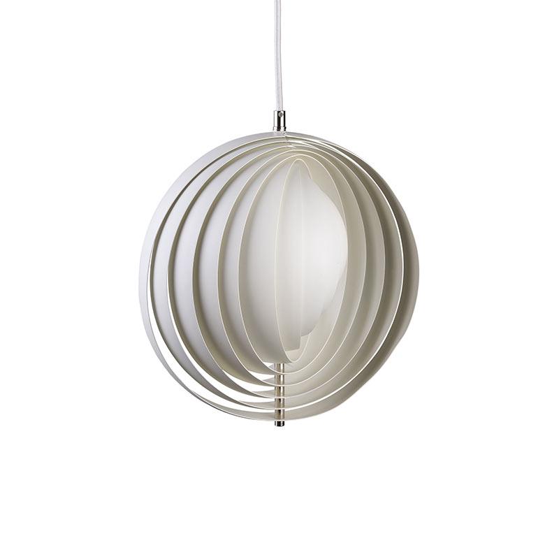 Verpan Moon Pendant Light by Verner Panton
