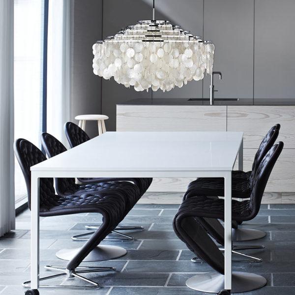 Panton Move 220x110cm Rectangular Dining Table