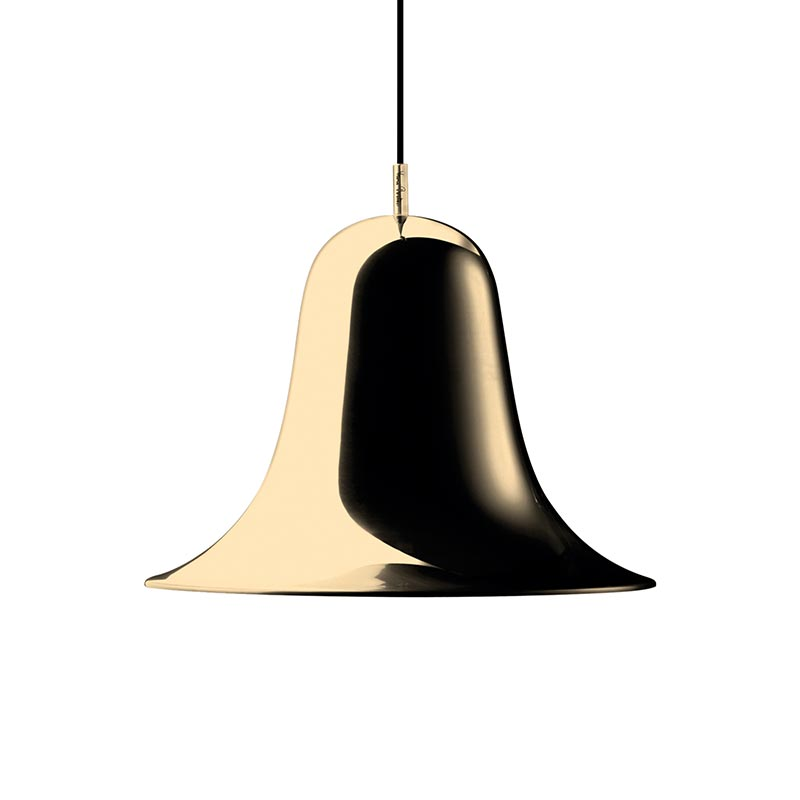 Verpan Pantop Pendant Light in Brass by Verner Panton