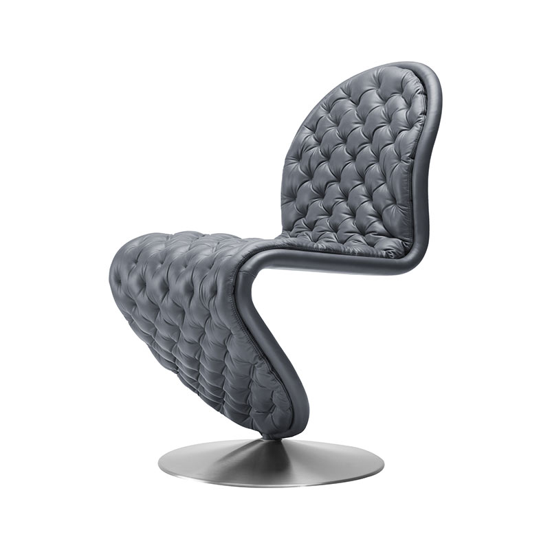 Verpan System 1-2-3 Deluxe Dining Chair by Verner Panton
