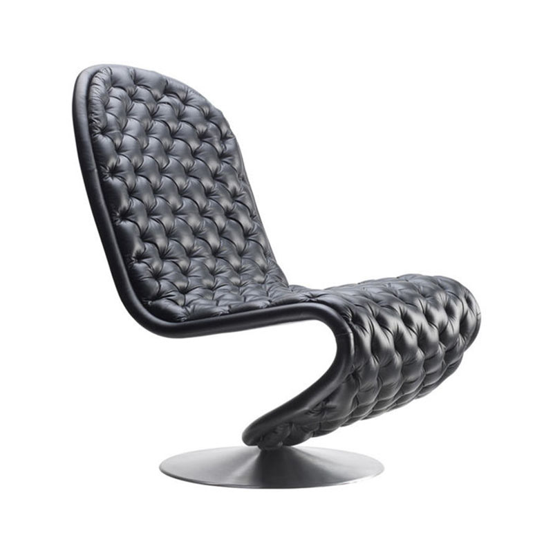 Verpan System 1-2-3 Deluxe Low Lounge Chair by Verner Panton