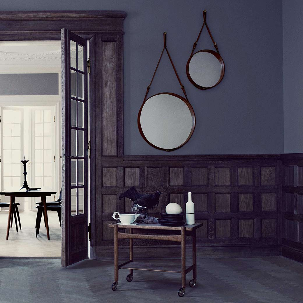 Olson and Baker blog image Design Icon | The Adnet Circular Wall Mirror for