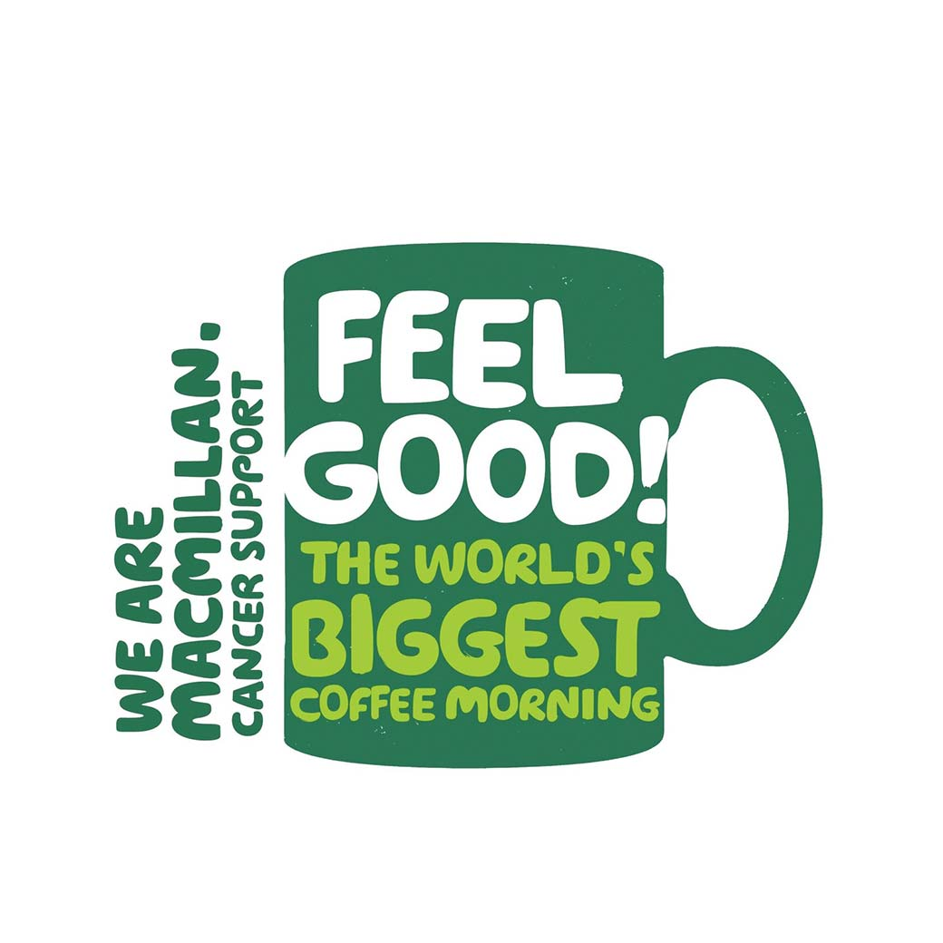 Olson and Baker blog image Just Because | Macmillan Coffee Morning for