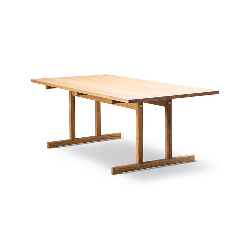 Fredericia 6286 Shaker 195x97.5cm Dining Table in Oiled oak by Borge Mogensen