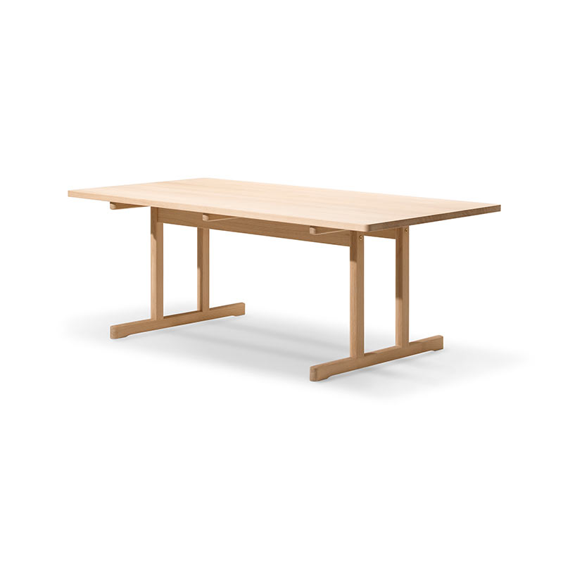 Fredericia 6286 Shaker 195x97.5cm Dining Table in Soaped oak by Borge Mogensen