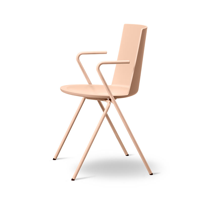 Fredericia Acme Chair A-Base Armchair by Geckeler Michels