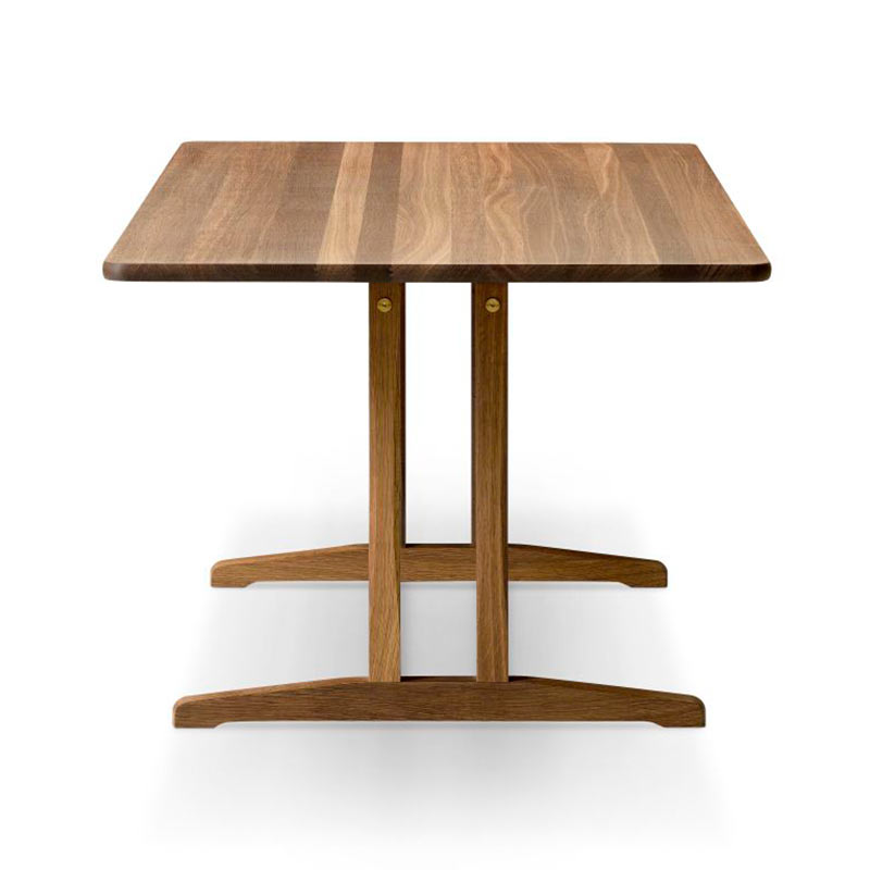 Fredericia C18 180x90cm Dining Table in Smoke stained oak by Borge Mogensen (2)