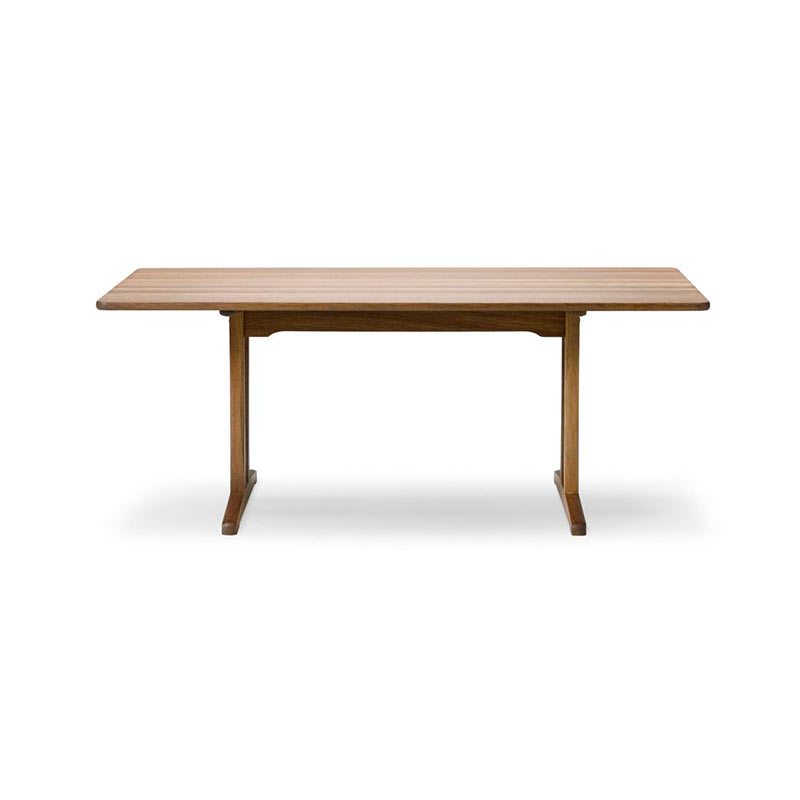 Fredericia C18 180x90cm Dining Table by Borge Mogensen Olson and Baker - Designer & Contemporary Sofas, Furniture - Olson and Baker showcases original designs from authentic, designer brands. Buy contemporary furniture, lighting, storage, sofas & chairs at Olson + Baker.