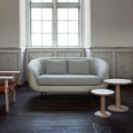 Fredericia Haiku Low Two Seat Sofa in 108 Colline & 112 Molly 2 by GamFratesi (2)
