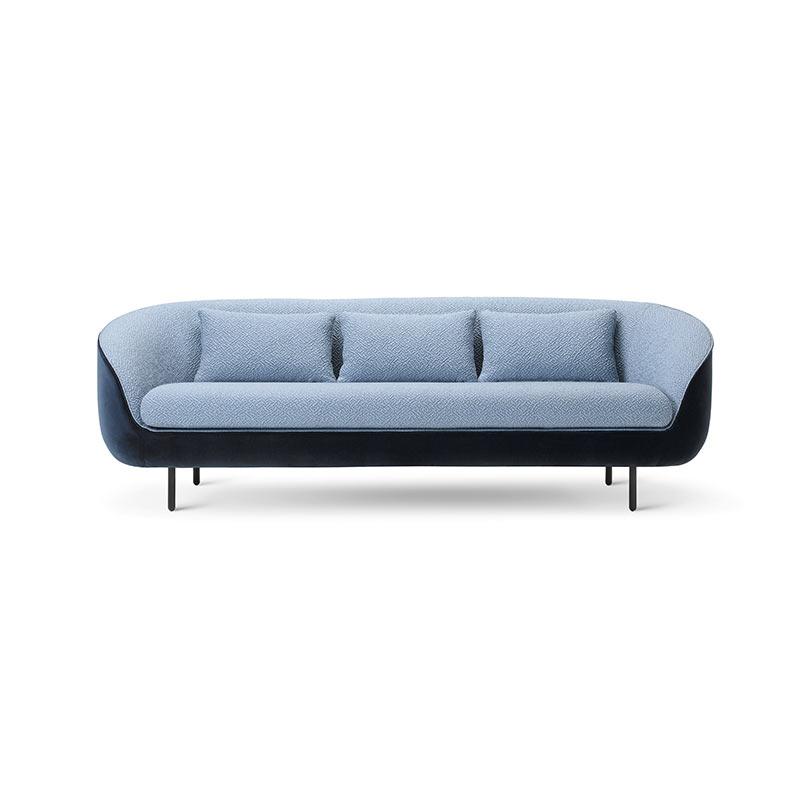Fredericia Haiku Low Three Seat Sofa by GamFratesi