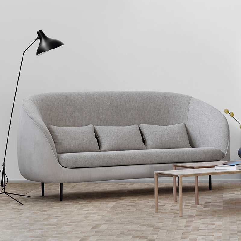Fredericia Haiku Three Seat Sofa in 212 Harald & 112 Sonar by GamFratesi (3)