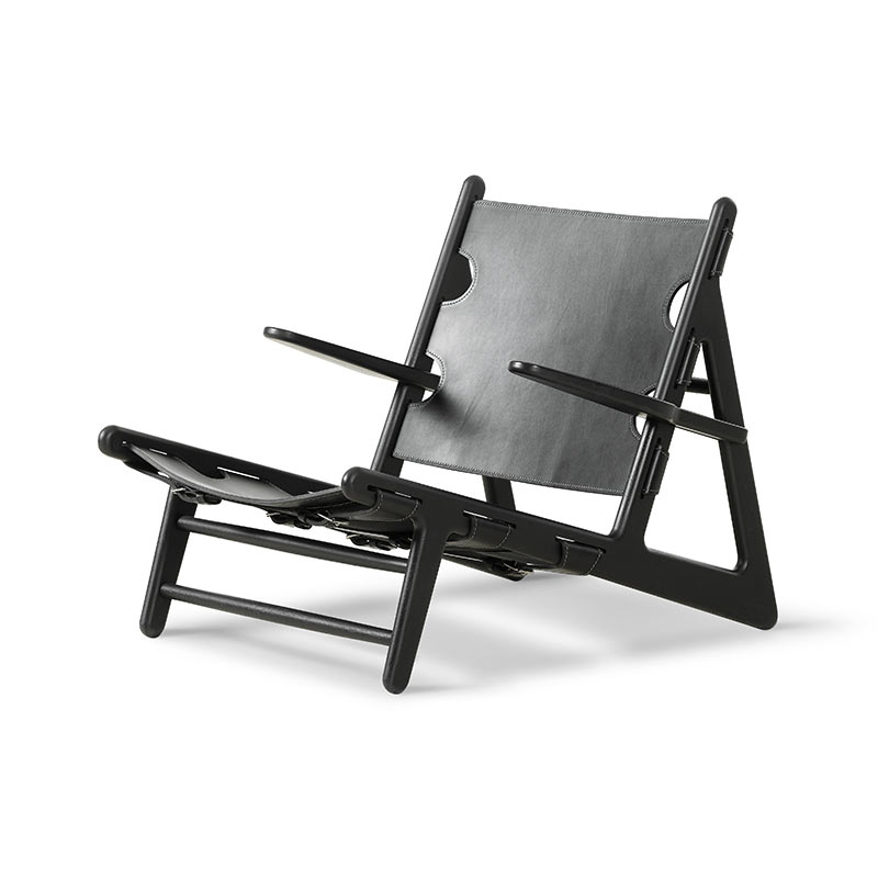 Fredericia Hunting Lounge Chair by Borge Mogensen
