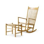 Fredericia J16 Rocking Chair in Natural paper cord by Hans Wegner (4)