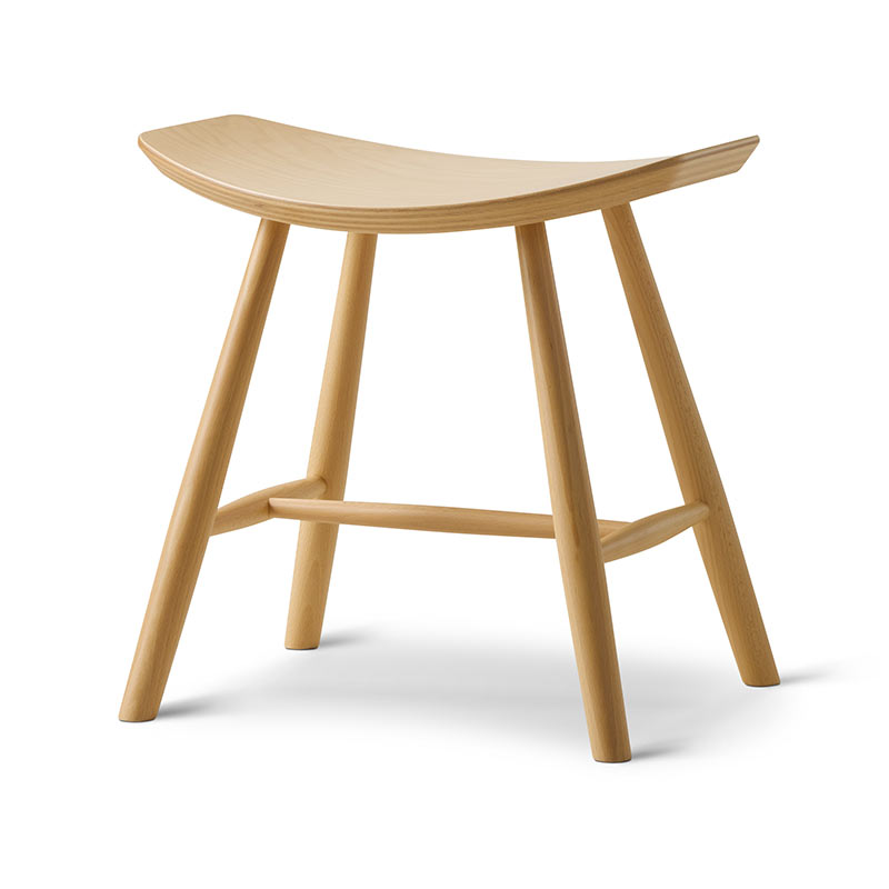 Fredericia J63 Foot Stool by Ejvind Johansson