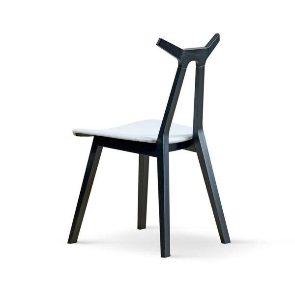Nara Chair with Upholstered Seat