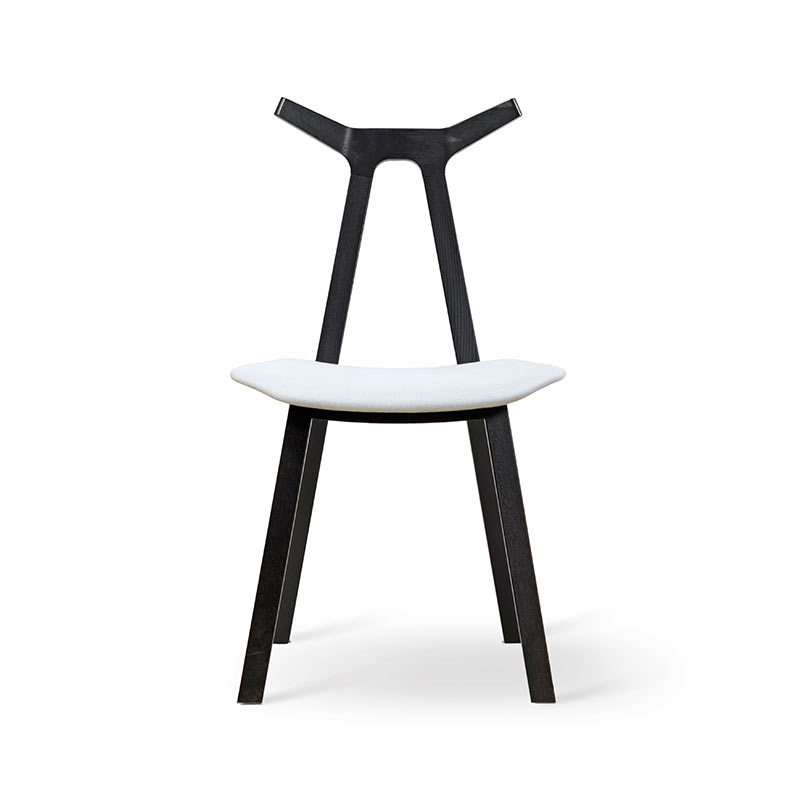 Fredericia Nara Chair with Upholstered Seat by Shin Azumi