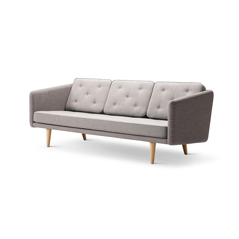 Fredericia No.1 Three Seat Sofa by Borge Mogensen