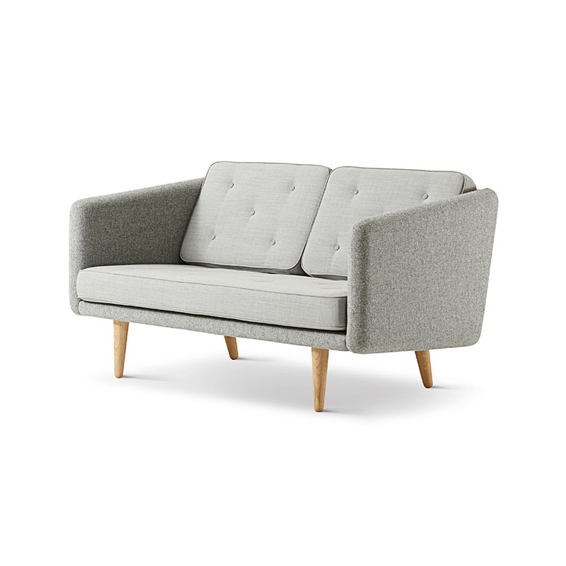 Fredericia No.1 Two Seat Sofa by Borge Mogensen