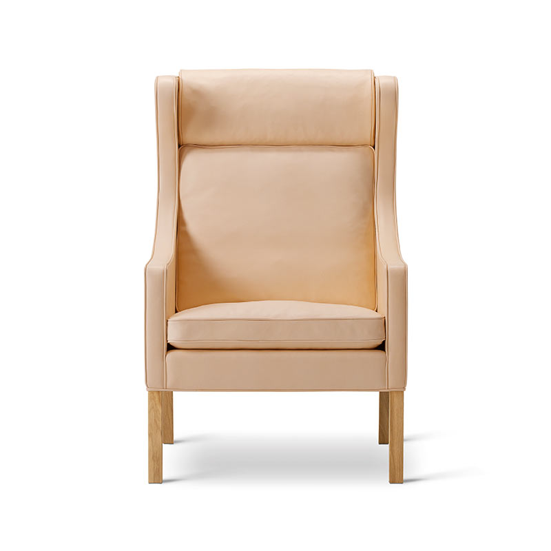 Fredericia Select 2204 Wing Chair by Borge Mogensen