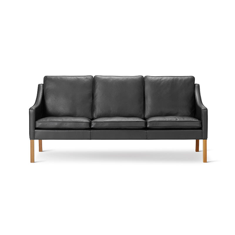 Fredericia Select 2209 Three Seat Sofa by Borge Mogensen
