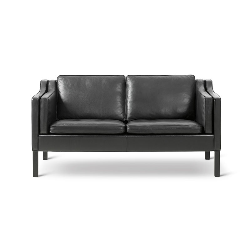 Fredericia Select 2212 Two Seat Sofa by Borge Mogensen
