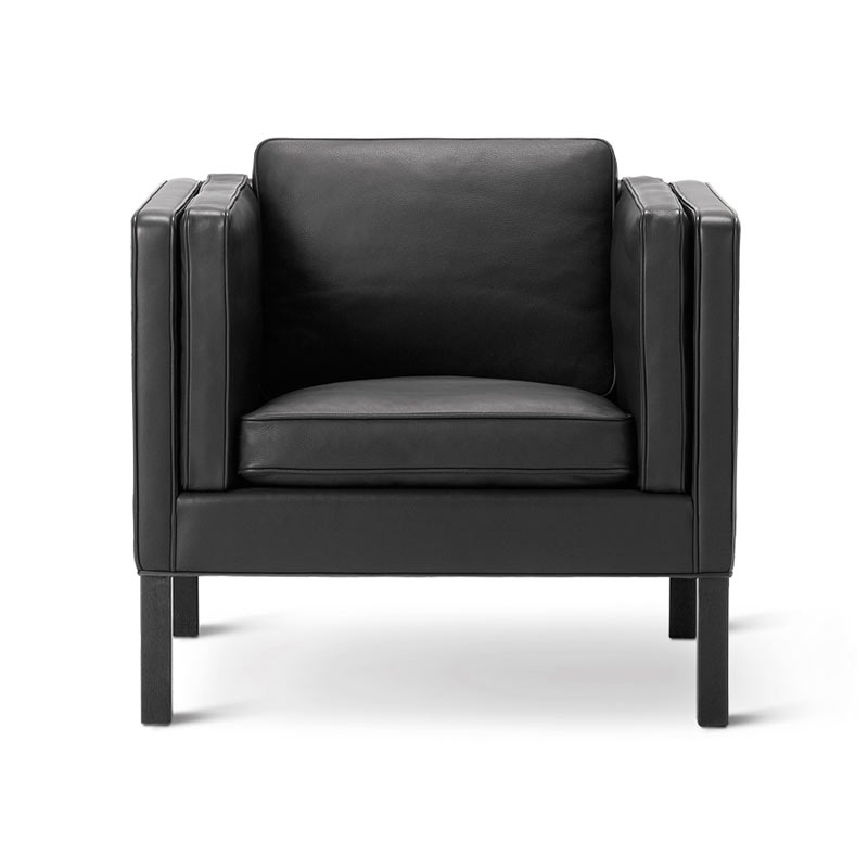 Fredericia Select 2334 Lounge Chair by Borge Mogensen Olson and Baker - Designer & Contemporary Sofas, Furniture - Olson and Baker showcases original designs from authentic, designer brands. Buy contemporary furniture, lighting, storage, sofas & chairs at Olson + Baker.