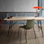 Fredericia Soborg 180x90cm Dining Table in Lacquered oak by Borge Mogensen (3)