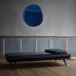 Fredericia Spine Daybed with Cushion in 88 Black semi aniline leather by Space Copenhagen (3)