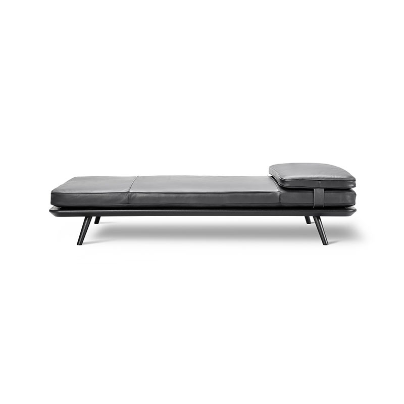 Fredericia Spine Daybed with Cushion by Space Copenhagen Olson and Baker - Designer & Contemporary Sofas, Furniture - Olson and Baker showcases original designs from authentic, designer brands. Buy contemporary furniture, lighting, storage, sofas & chairs at Olson + Baker.