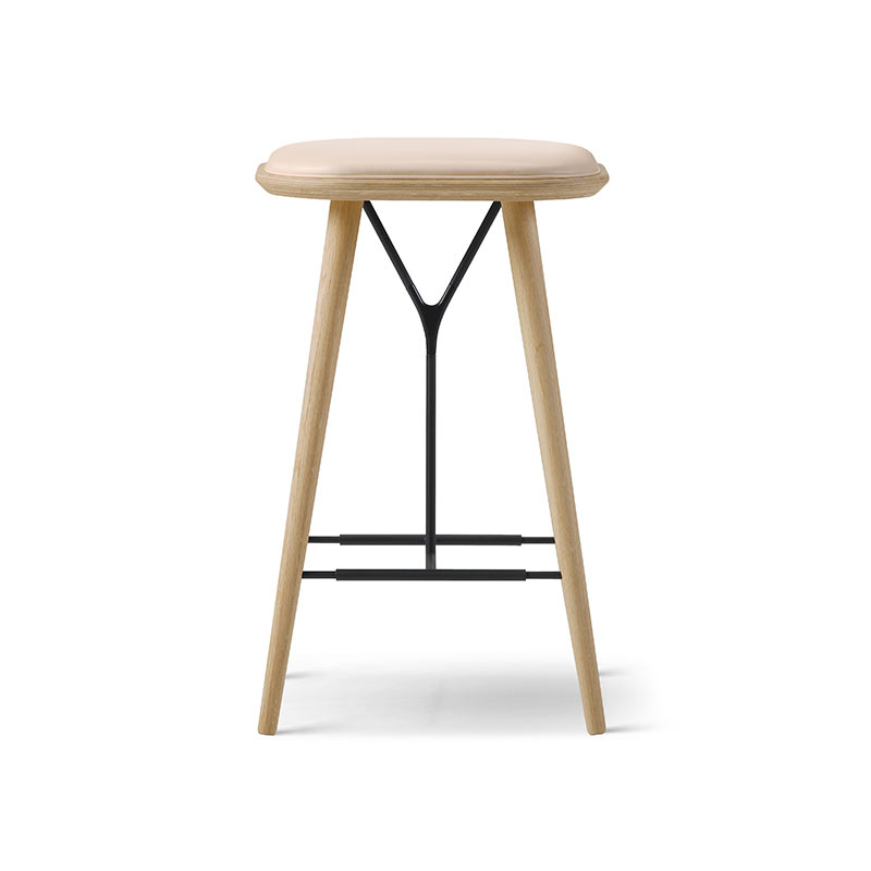 Fredericia Spine Low Stool by Space Copenhagen