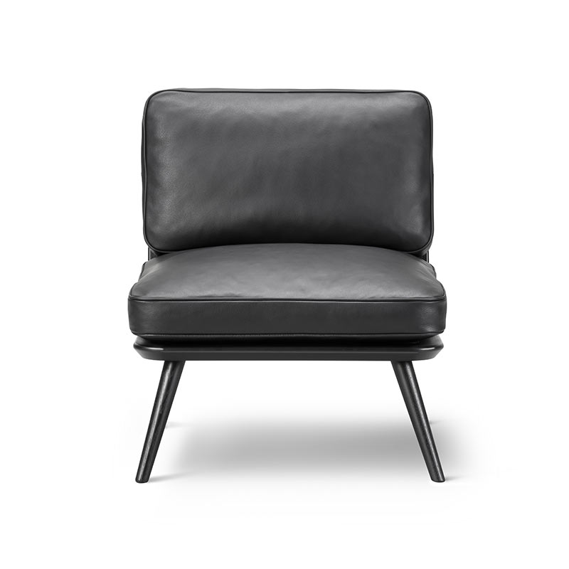 Fredericia Spine Petit Lounge Chair by Space Copenhagen Olson and Baker - Designer & Contemporary Sofas, Furniture - Olson and Baker showcases original designs from authentic, designer brands. Buy contemporary furniture, lighting, storage, sofas & chairs at Olson + Baker.