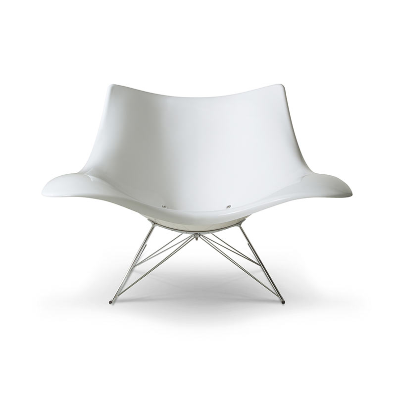 Fredericia Stingray Rocking Chair by Thomas Pedersen
