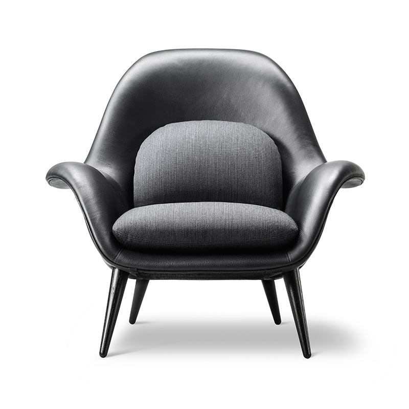 Buy Fredericia S Swoon Lounge Chair By Space Copenhagen