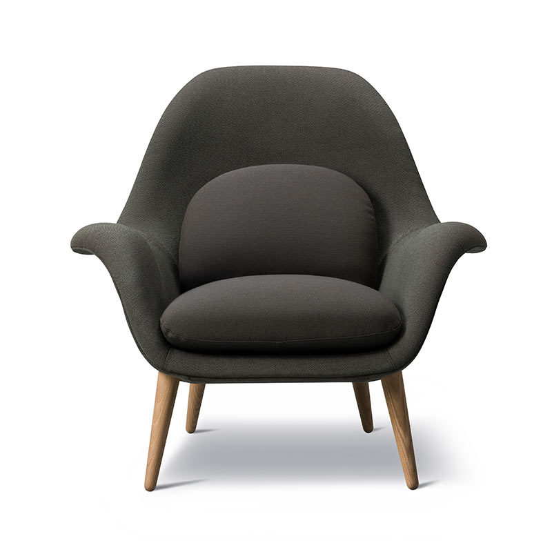 Fredericia Swoon Lounge Chair by Space Copenhagen