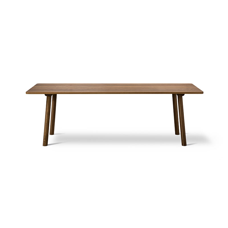 Fredericia Taro 220x93.5cm Dining Table with Milled Grooves by Jasper Morrison