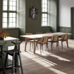 Fredericia Taro 280x93.5cm Dining Table with Milled Grooves in Soaped oak by Jasper Morrison (3)