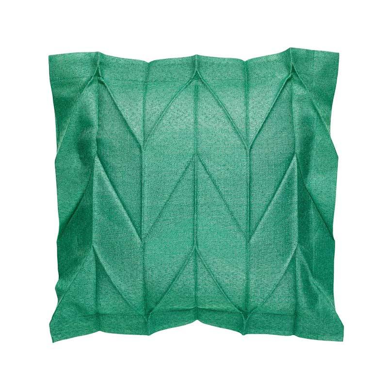 Iittala Issey Miyake Herringbone Emerald 35x35cm Cushion Cover by Iittala x Issey Miyake