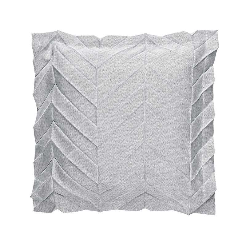 Iittala Issey Miyake Zigzag Light Grey 50x50cm Cushion Cover by Iittala x Issey Miyake