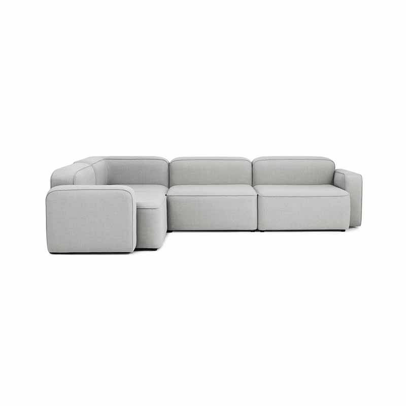 Normann Copenhagen Rope Three Seat Left Hand Facing Corner Sofa by Hans Hornemann