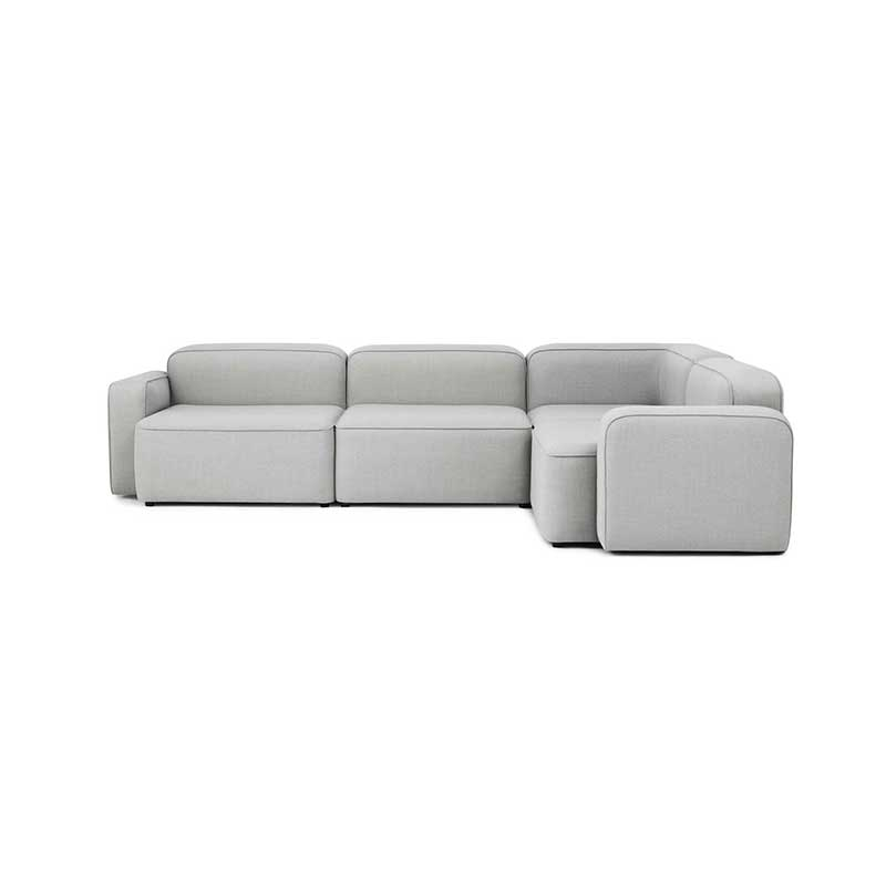 Normann Copenhagen Rope Three Seat Right Hand Facing Corner Sofa by Hans Hornemann