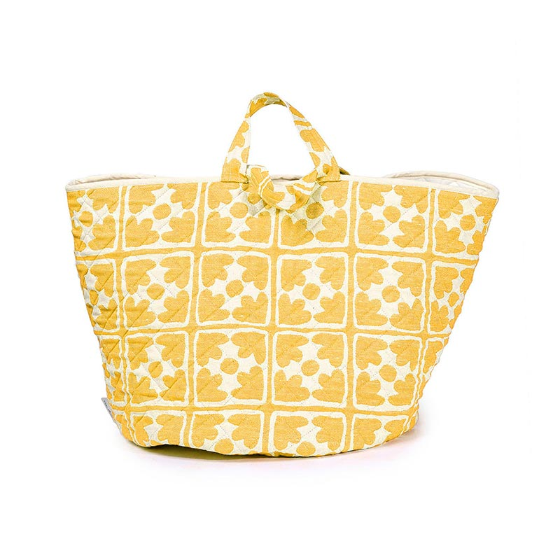 Tori Murphy Bloom Storage Basket Mustard by Tori Murphy