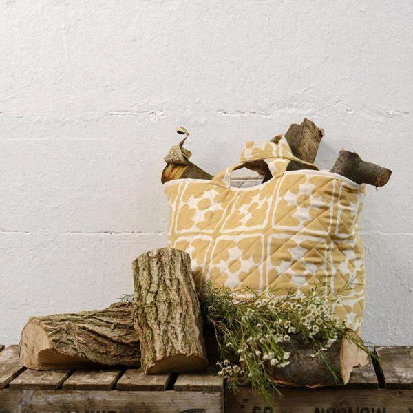Bloom Storage Basket Mustard