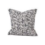 Tori Murphy Boulder Cushion Black by Tori Murphy