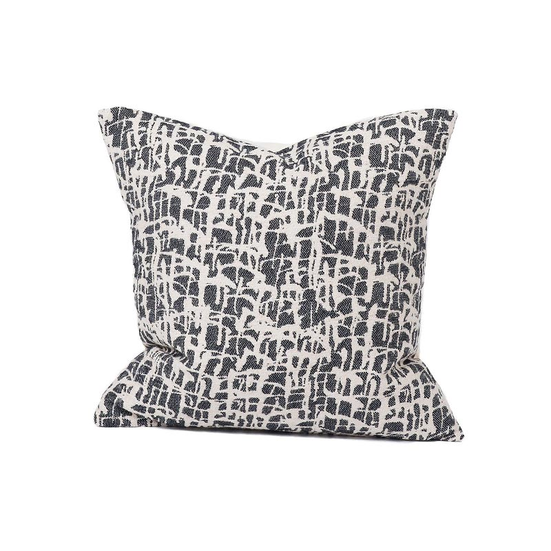 Tori Murphy Boulder Cushion Black by Tori Murphy
