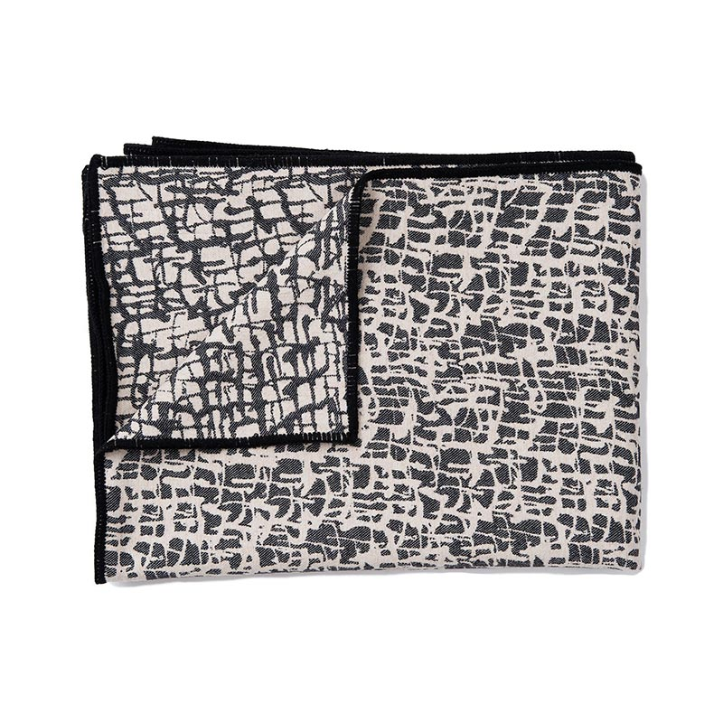 Tori Murphy Boulder Throw Graphite & Ecru by Tori Murphy